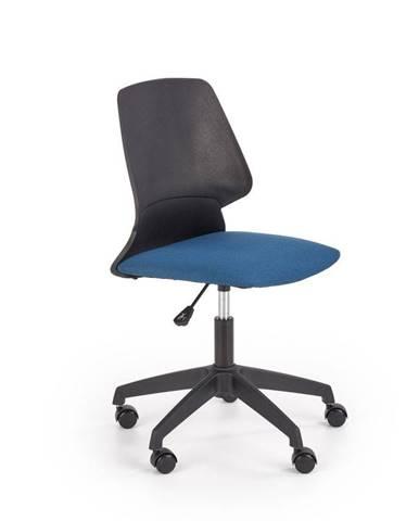 Halmar Dětská židle Gravity, černá/modrá