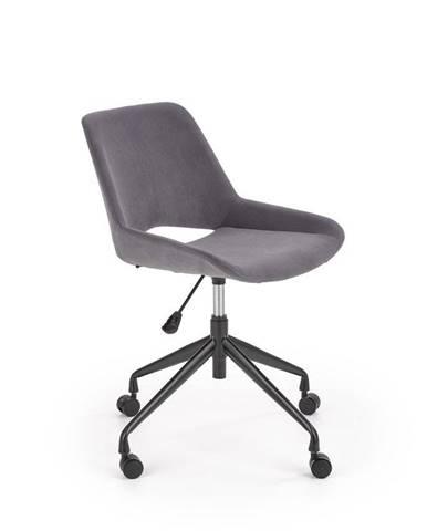 Halmar Dětská židle Scorpio, tmavě šedá