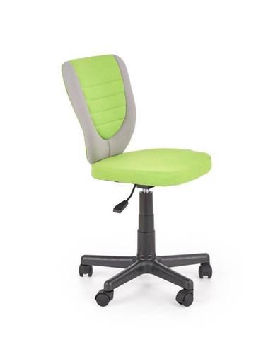 Halmar Dětská židle Toby, šedá/zelená