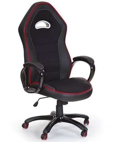 Halmar Herní židle Enzo, černá