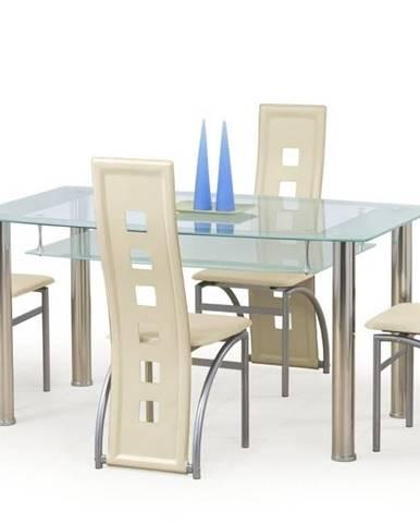 Halmar Jídelní stůl CRISTAL, sklo