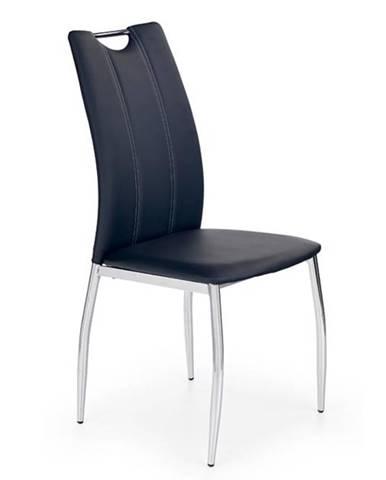 Halmar Jídelní židle K187, černá