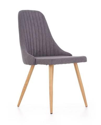 Halmar Jídelní židle K285, tmavě šedá