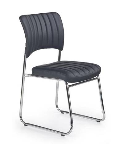 Halmar Konferenční židle Rapid, černá