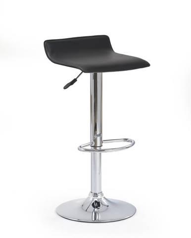 Halmar Barová židle H-1, černá