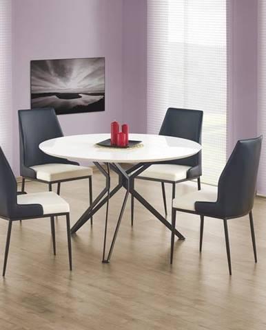 Halmar Jídelní stůl PIXEL, bílý/černý