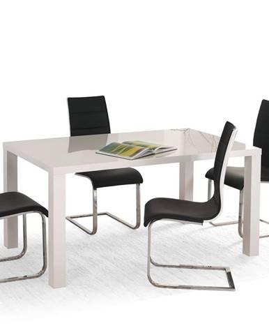 Halmar Jídelní stůl RONALD 120-160 cm, bílý