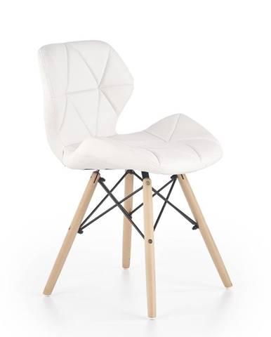 Halmar Jídelní židle K281, bílá