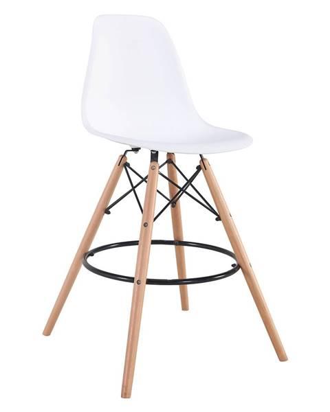 IDEA Nábytek Barová židle UNO bílá