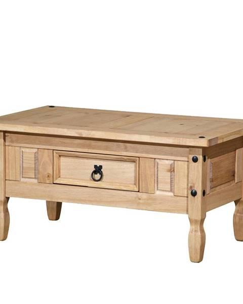 IDEA Nábytek Konferenční stolek CORONA vosk 163910