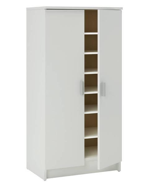 IDEA Nábytek Botník 2 dveře bílá