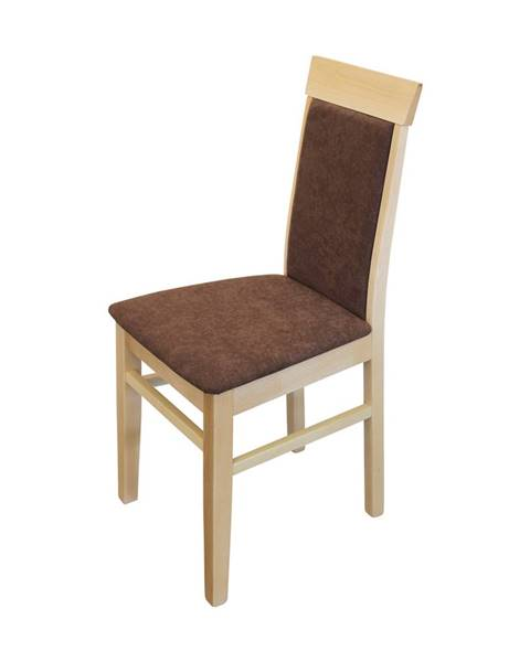IDEA Nábytek Jídelní židle OLI buk/tmavě hnědá