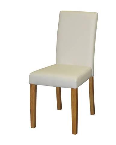Židle PRIMA bílá 3037