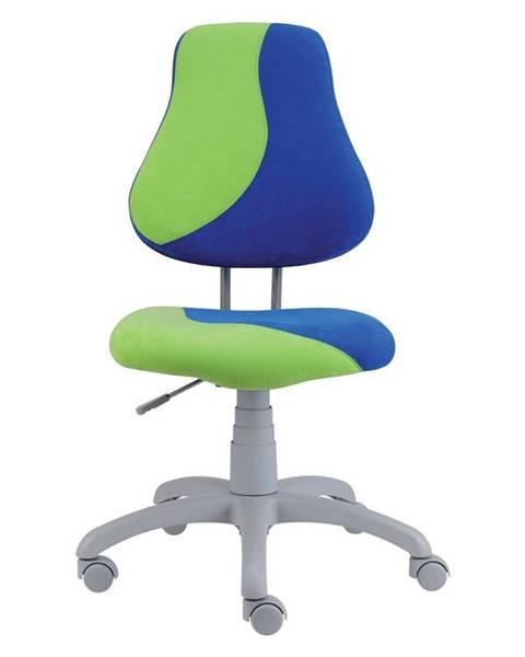 Smartshop Dětská židle FUXO S, modrá/zelená