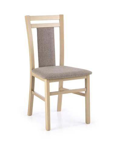 Jídelní židle HUBERT 8, dub sonoma