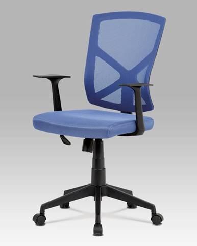 Kancelářská židle KZKA-H102 BLUE, modrá