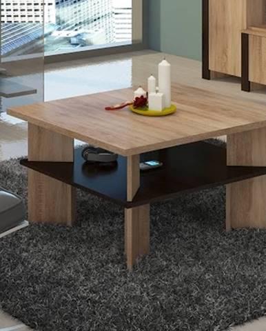 Konferenční stolek VECTRA 1, dub sonoma/dub sonoma tmavá