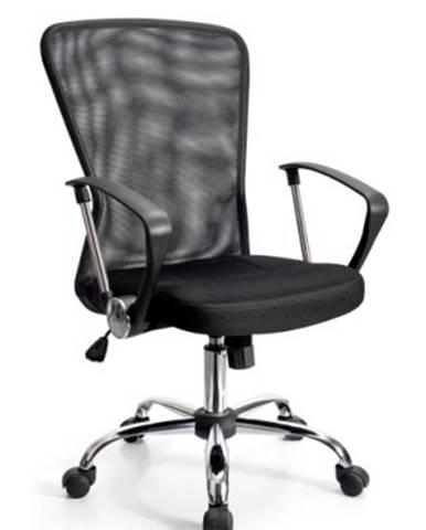 022010 - Kancelářské křeslo ADK BASIC, černá síťovina 022010