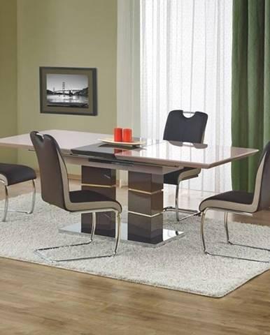 Jídelní stůl rozkládací LORD, světle šedá/tmavě šedá