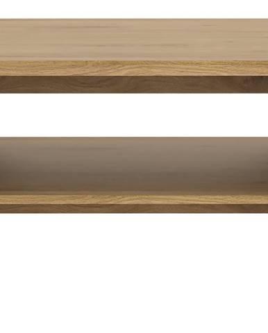 SHETLAND, konferenční stolek, dub shetland
