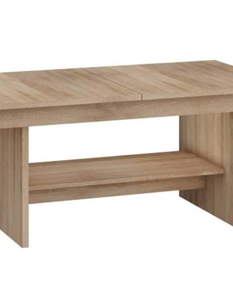 MORAVIA FLAT Konferenční stolek DALLAS rozkládací MAT, barva: