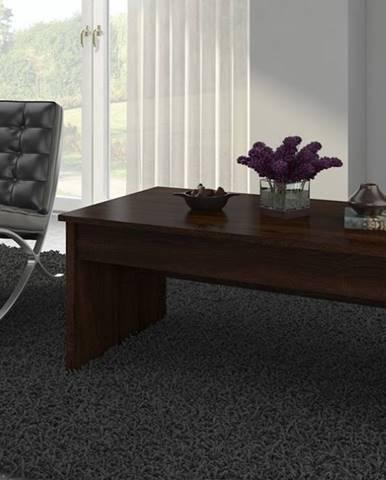 Konferenční stolek INDILA, dub sonoma tmavý