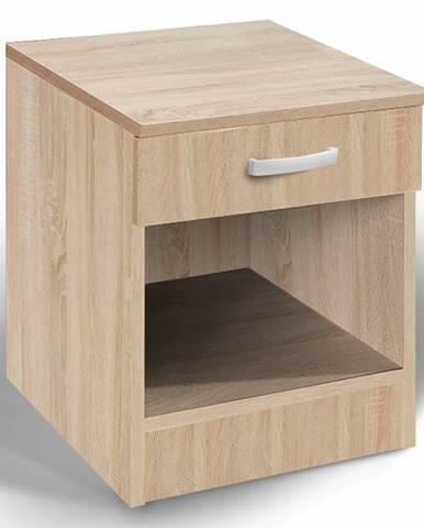 Noční stolek ALFA, dub