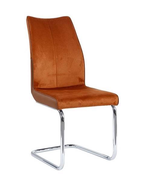 Smartshop Jídelní židle FARULA, cihlová
