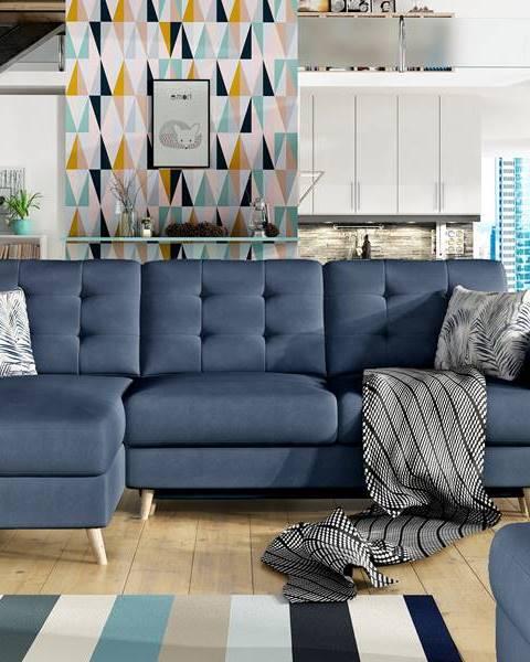 ELTAP Rohová sedačka ASGARD L Asg 11 univerzální, šedo-modrá