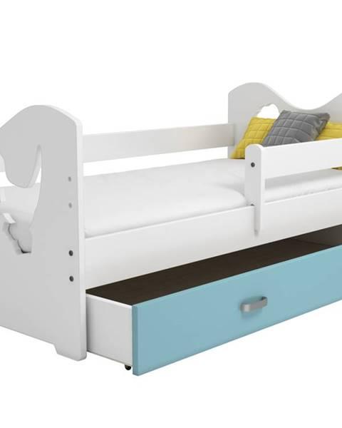 MAGNAT Zásuvka pod postel MIKI, modrá