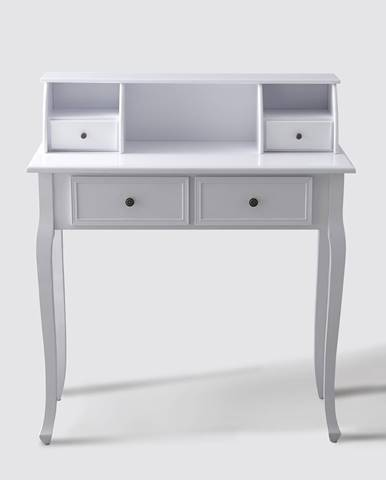 Toaletní stolek STELLA, barva bílá
