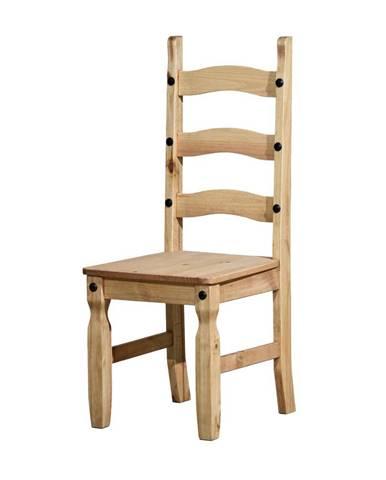 Židle CORONA, masiv borovice, vosk