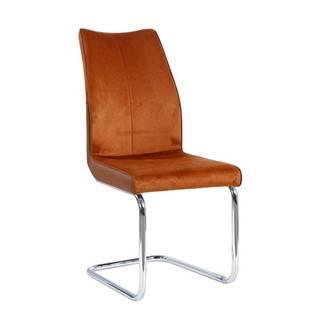 Jídelní židle FARULA, cihlová
