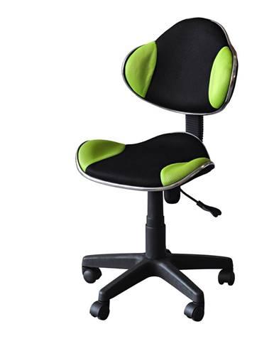 Kancelářská židle NOVA, zeleno-černá