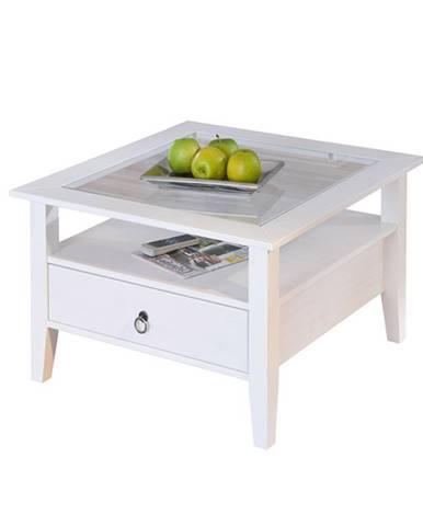 Konferenční stolek PROVENCE, bílá