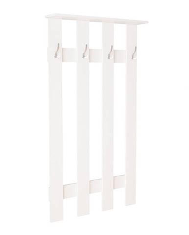 Věšák MÁŠENKA BW-100M, bílá (MASENKA VSH100M-V4 VĚŠÁK dub sonoma/bílý korpus)
