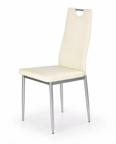 Židle K-202, krémová