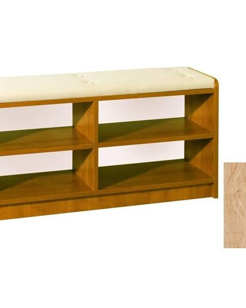 MORAVIA FLAT BRAVO, čalouněná lavice, barva: olše, látka: Monaco