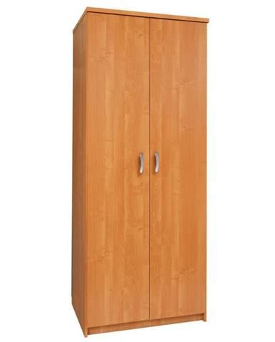 Šatní skříň SLAVIA 80B, barva: