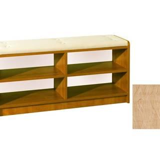 BRAVO, čalouněná lavice, barva: olše, látka: Monaco