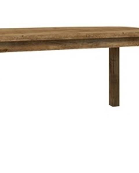 Smartshop MONTANA rozkládací jídelní stůl STW, dub lefkas tmavý