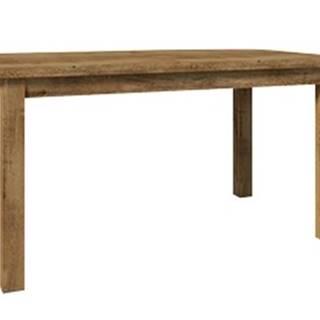 MONTANA rozkládací jídelní stůl STW, dub lefkas tmavý