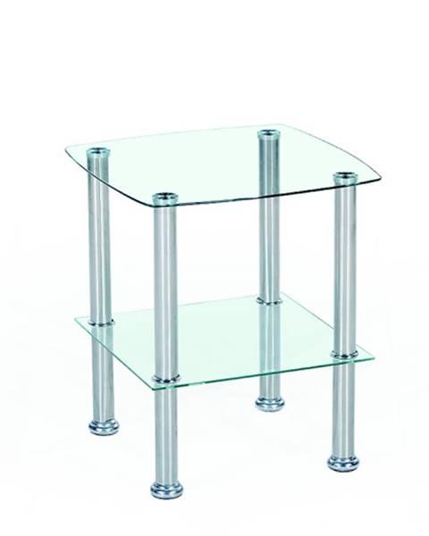 Smartshop Konferenční stolek CANARIA, kov/sklo