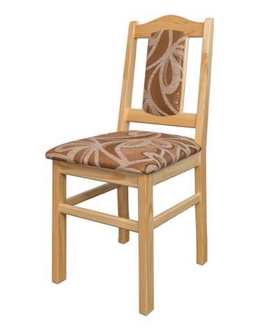 Jídelní židle KT102, masiv borovice, moření: …