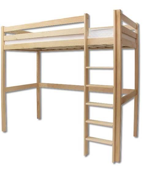 Smartshop Patrová postel LK135, 90x200, masiv borovice