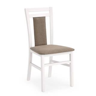 Židle HUBERT 8, bílá