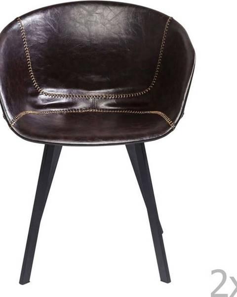 Kare Design Sada 2 jídelních židlí Kare Design Lounge