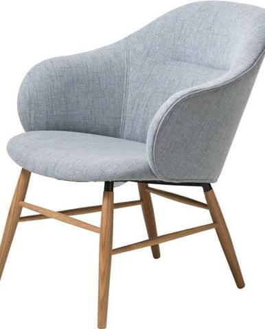 Šedé křeslo Unique Furniture Teno