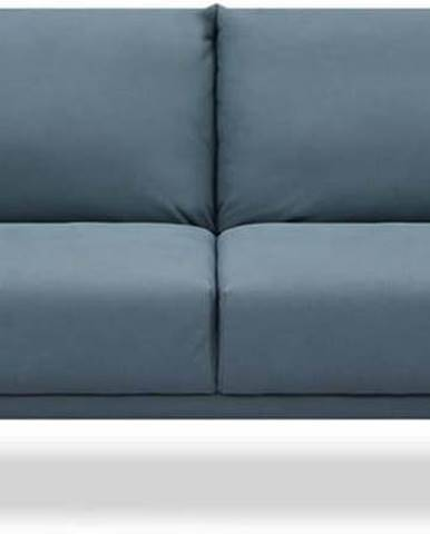 Modrá rozkládací pohovka Tomasucci Cigo,šířka210cm