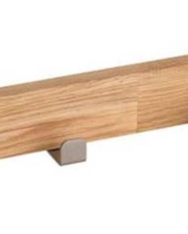 Přírodní dubový věšák se 6 háčky Rowico Sol